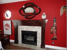 Custom Designed Fierplace Mantels and Fireplace Surrounds by Quality Cabimets - Parksville - Qualicum - Project-17