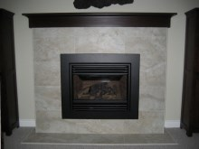 Custom Designed Fierplace Mantels and Fireplace Surrounds by Quality Cabimets - Parksville - Qualicum - Project-1b