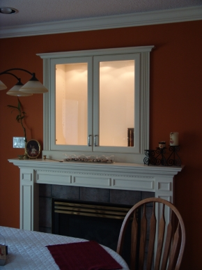 Custom Designed Fierplace Mantels and Fireplace Surrounds by Quality Cabimets - Parksville - Qualicum - Project-12