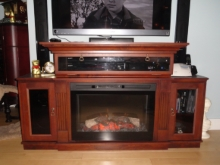 Custom Designed Fierplace Mantels and Fireplace Surrounds by Quality Cabimets - Parksville - Qualicum - Project-19