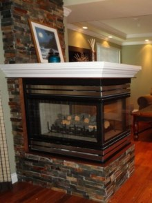 Custom Designed Fierplace Mantels and Fireplace Surrounds by Quality Cabimets - Parksville - Qualicum - Project-5