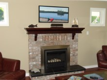 Custom Designed Fierplace Mantels and Fireplace Surrounds by Quality Cabimets - Parksville - Qualicum - Project-9