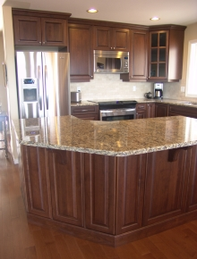 Custom Kitchens and interior renovations by Hamilton Thorne Quality Cabinets Ltd. Project=219