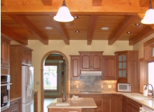Custom Kitchens and interior renovations by Hamilton Thorne Quality Cabinets Ltd. Project-Cherry Arch Square