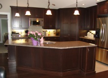 Custom Kitchens and interior renovations by Hamilton Thorne Quality Cabinets Ltd. Project-DSC09091