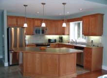 Custom Kitchens and interior renovations by Hamilton Thorne Quality Cabinets Ltd. Project-DSC09134