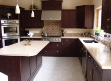 Custom Kitchens and interior renovations by Hamilton Thorne Quality Cabinets Ltd. Project-DSC09857