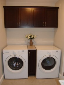 Laundry room cabinets and renovations by Hamilton Thorne Quality Cabinets - Project-13