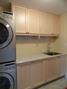 Laundry room cabinets and renovations by Hamilton Thorne Quality Cabinets - Project-3a