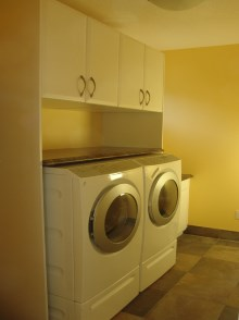 Laundry room cabinets and renovations by Hamilton Thorne Quality Cabinets - Project-5a