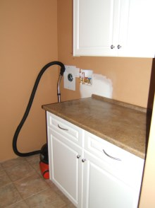 Laundry room cabinets and renovations by Hamilton Thorne Quality Cabinets - Project-9